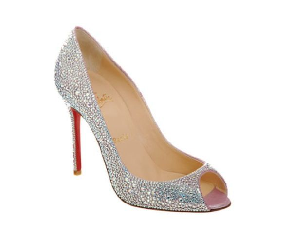 Amazing Wedding Shoes That Sparkle By Christian Louboutin