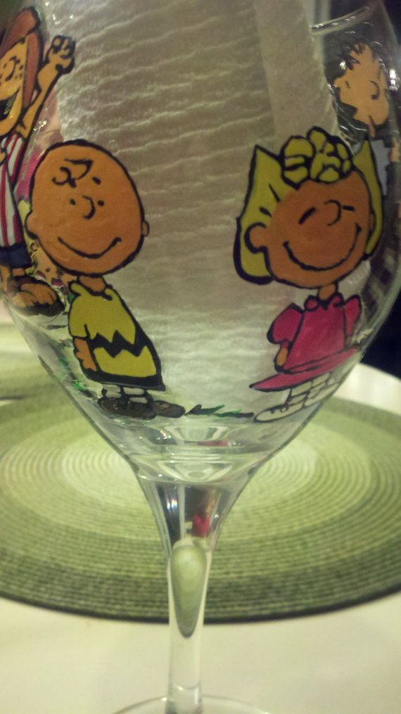 decorative peanuts gang charlie brown linus lucy snoopy by Deziray, $30.00