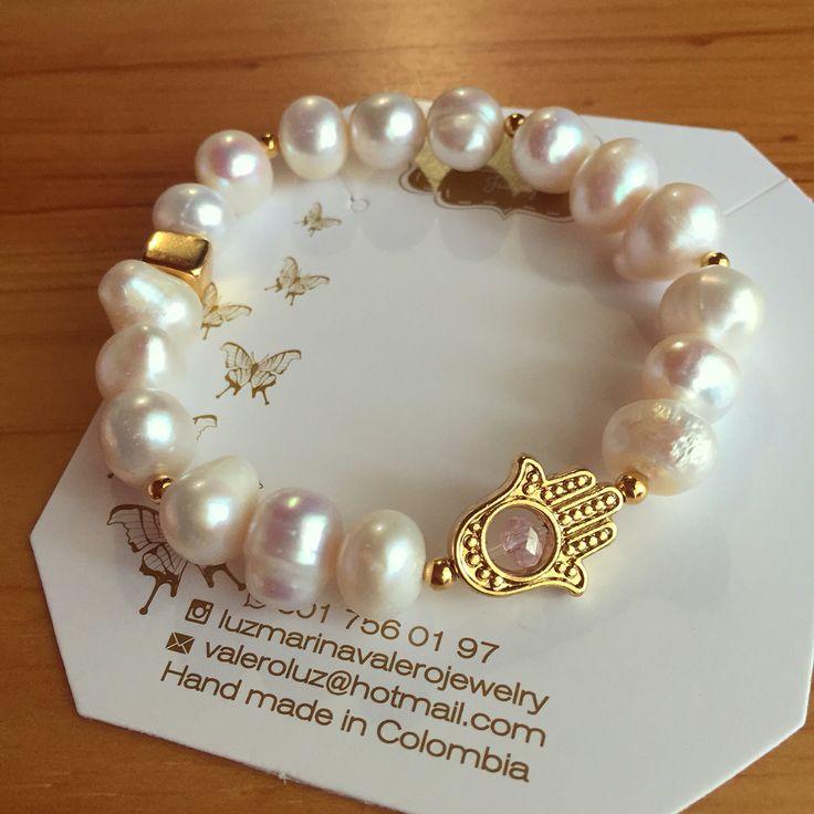 Pulsera de perlas by Luz Marina Valero Jewelry