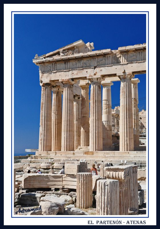 The Parthenon through the eyes of adramad