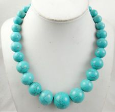 Beautiful turquoise  Handmade Gemstone Jewellery Necklace  TN18