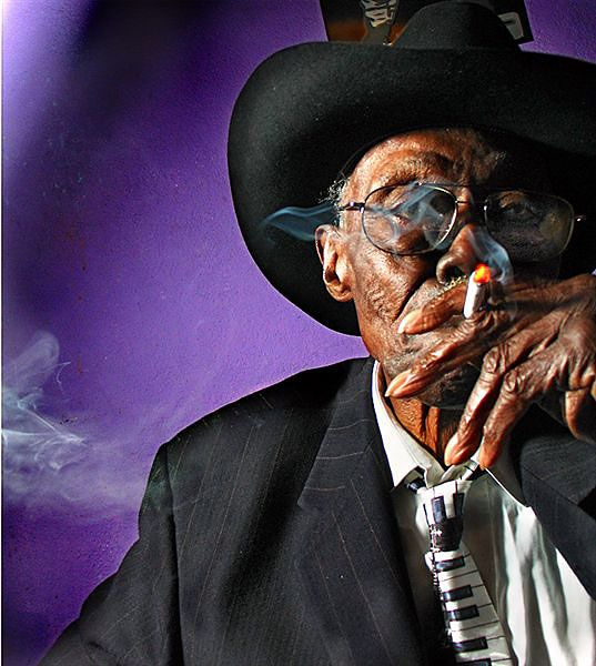 Pinetop Perkins (1913-2011). Delta bluesman continued playing shows at Antone's in his 97th year.