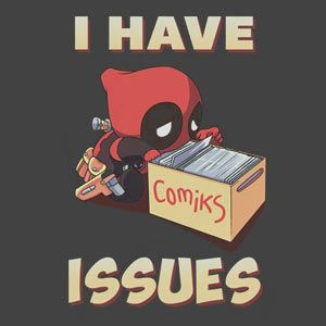 PFFFFFFT they aren't issues.... they're... um.... well yeah maybe they are issues... BUT STILL.