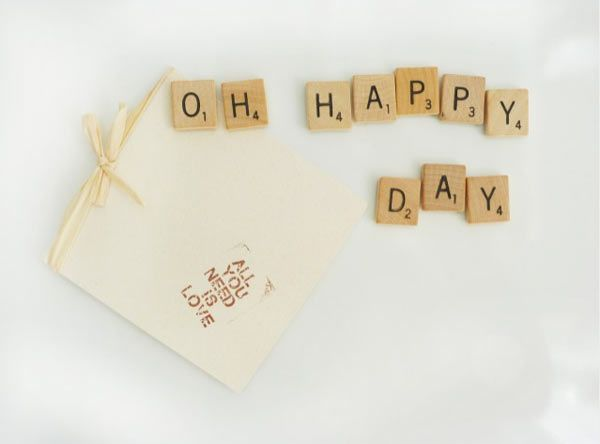 Such a sweet idea for an anniversary/birthday/gift ... alternative card idea #ohhappyday