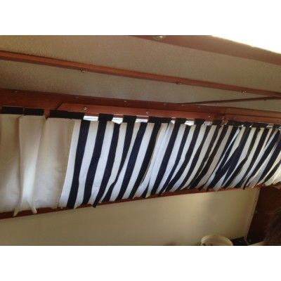 Floating Boat Curtain Pattern
