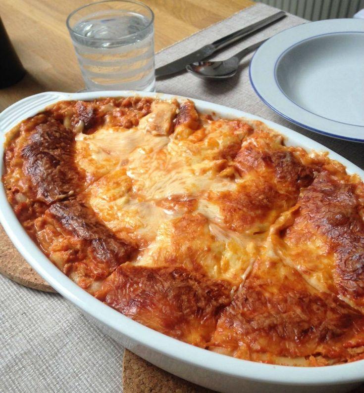 Fit Food Friday Thunfisch Lasagne mit 45 Gramm Protein pP