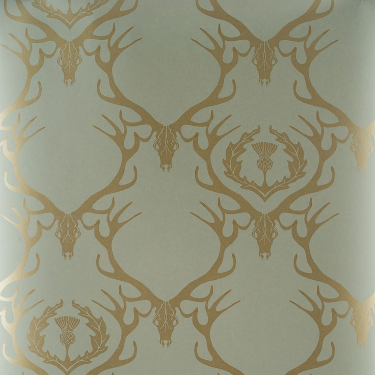 Deer Antler Wallpaper Decorating For The Home