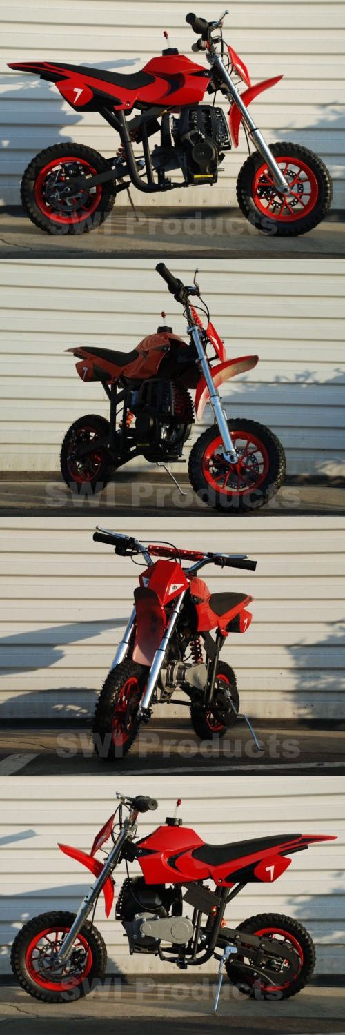 Gas Scooters 75211: Gas Powered Mini Dirt Bike - Pit Bike For Kids - No Mixing - Free Shipping - Red -> BUY IT NOW ONLY: $299 on eBay!