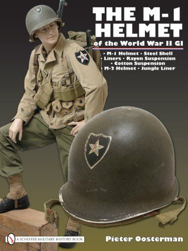 The M-1 Helmet of the WWII GI - For over 40 years, the M-1 was standard issue, becoming an icon of the American military. #WWII