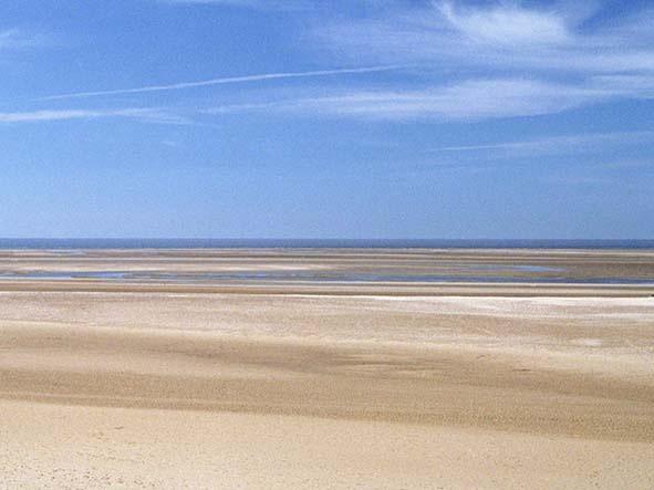 The glorious Holkham Beach