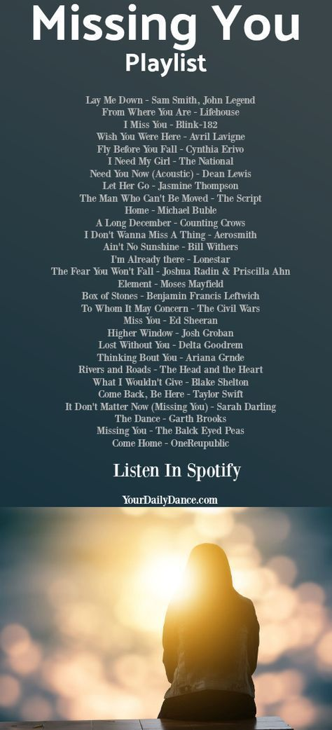 25+ Songs About Missing Someone You Love - #love #Missing #Songs