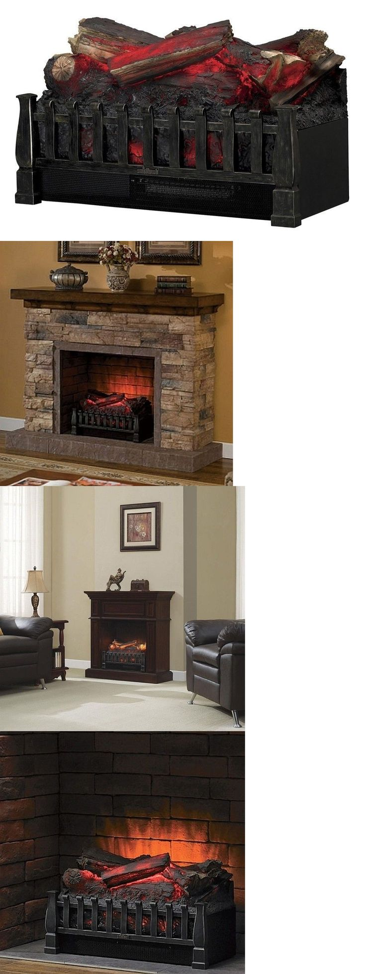 Inserts fireplace accessories new york by bowden s fireside - Fireplaces 175756 Electric Fireplace Insert Duraflame Heater Logs Remote Decor Wood Ventless Led