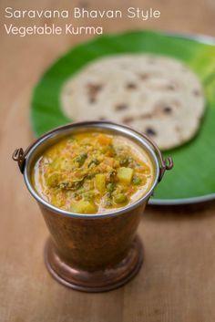 Hotel-Saravana-Bhavan-Chapati-Parotta-Vegetable-Kurma-Recipe