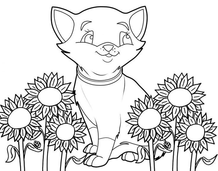 ausmalbilder katzen für kinder  ausmalbilder katzen