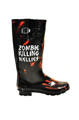 Zombie Killing Wellies! oh yes please!