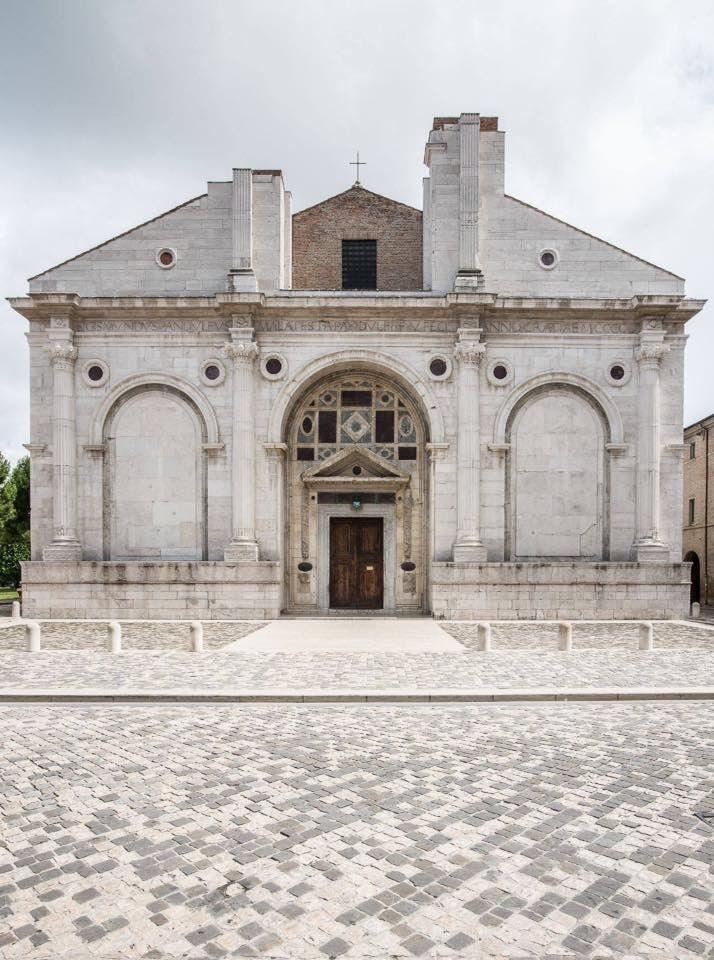 Tempio Malatestiano, Leon Battista Alberti, Rimini, 1453