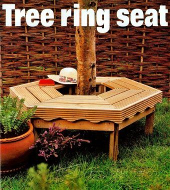 3342-Tree Bench Plans