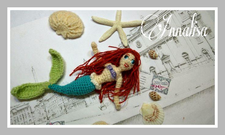 La Sirenetta Ariel tutorial sul mio canale YouTube 🌼💗
