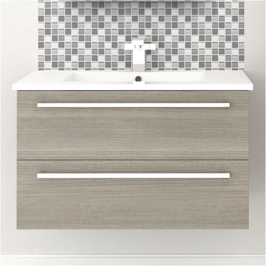 """Found it at AllModern - Silhouette 30"""" Wall Hung Vanity Set"""
