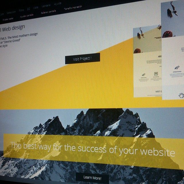 Личный веб сайт Портфолио  Porfolio Web Design ! Tags # blackandwhite #themeforest #template #envato #dribbble #screenshot #website #html5 #design #free #blue #portafolio #website #design #58bae9 #creative #responsive #envato #dribbble #free #html5...