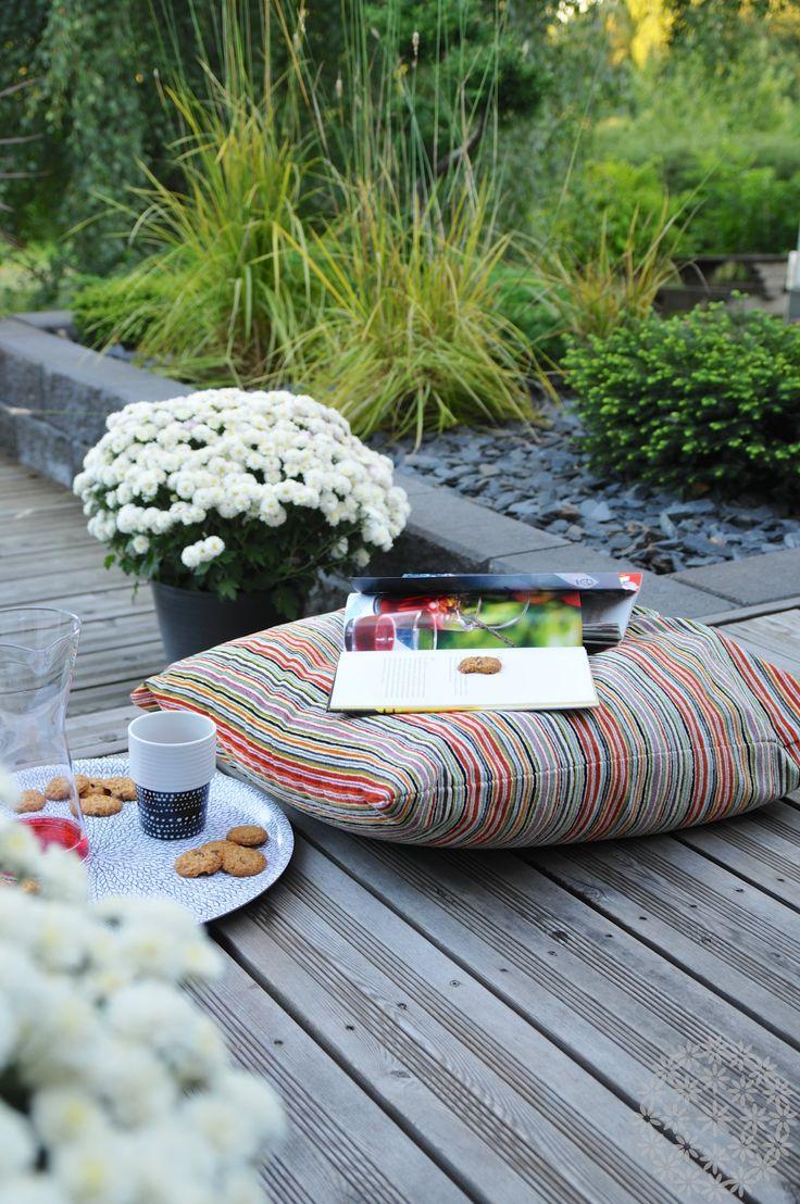 Ota tyyny, istahda alas ja nauti puutarhastasi! www.puksipuu.com