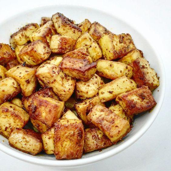 Tofu marinado | la gloria vegana | https://lomejordelaweb.es/