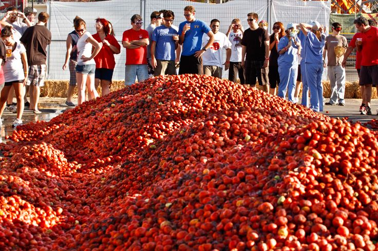 Tomato Battle @ Pomona Fairgrounds - LA Weekly