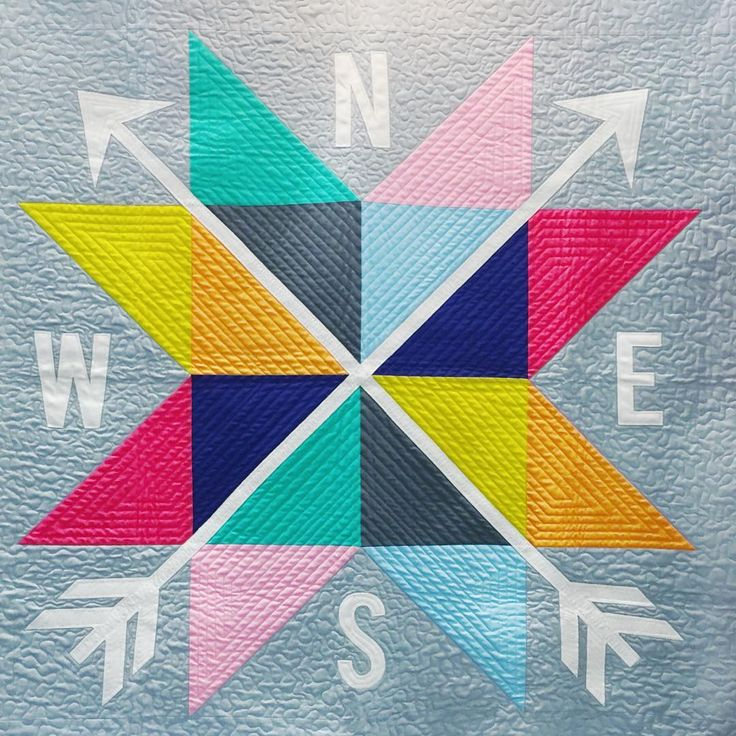 Compass Quilt                                                                                                                                                                                 More