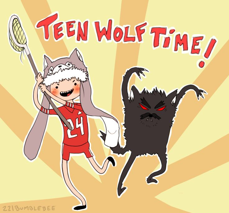 Teen Wolf Time! - with Derek the wolf and Stiles the human