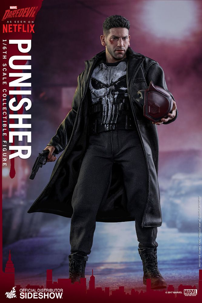 Hot Toys' The Punisher Sixth Scale Figure is available at Sideshow.com for fans of Netflix's Marvel Daredevil TV Show and Jon Bernthal.