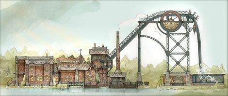 """Efteling's nieuwe spectaculaire achtbaan """"Baron 1898"""""""