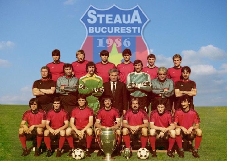 Fotbal Club Steaua București, Campeón de la Europa Champions Ligue, 1986