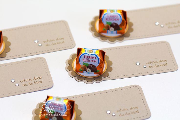 Kleine Goodies mit Ferrero Küsschen « Stampin' Up! Stempelwiese
