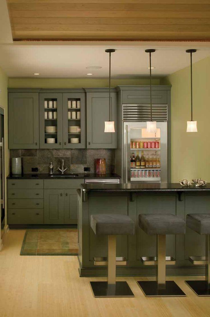 Master bedroom kitchenette   best basement ideas images on Pinterest  Basement kitchenette