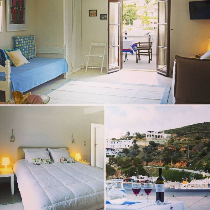 Our rennovated apartment is ready.. have you decided where to go to vacation yet? #skyros #island #greece #roomstolet #travel #summer #easter #sea #smallport #sailing #aegeansea #sporades #vacation #family #familyvacation #couples #couplesvacation #holidays  #may