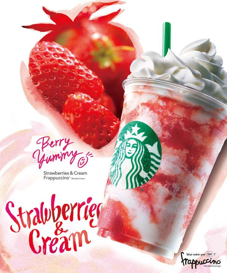 Starbucks Japan - Strawberry Cream