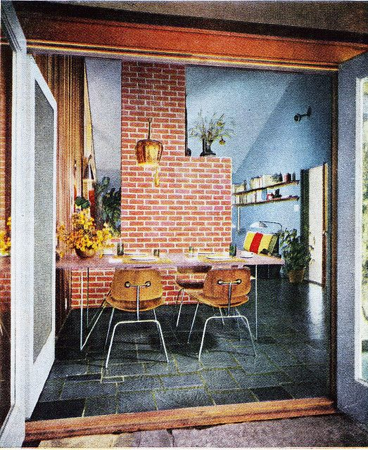 387 Best Images About 50s Interiors On Pinterest Mid Century 50 And Eames