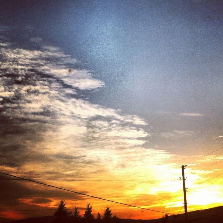 Sun set in Pouch Cove