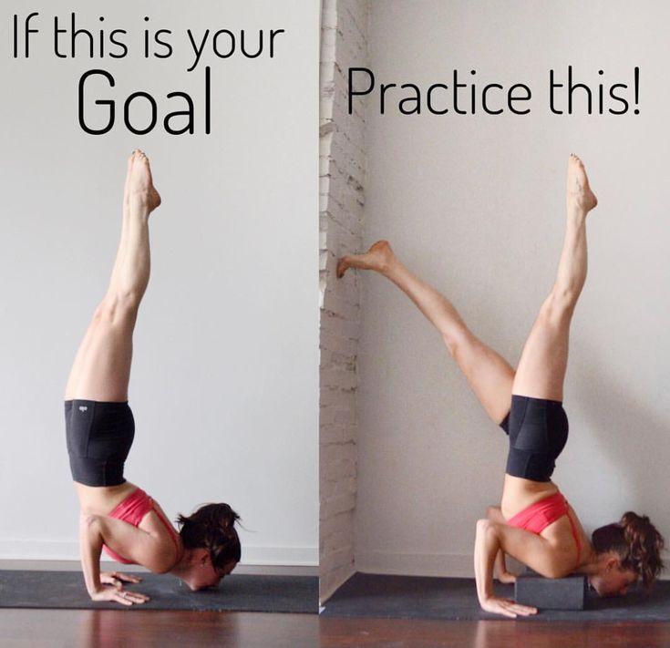 Wenn dies dein Ziel ist – übe das! #yoga #yogapose #yogainspiration #yogainspir… – inola_