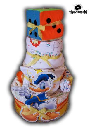 http://thavmataki.gr/e…/diaper-cakes/heroes-diaper-cake.html Αγαπημένος ήρωας, πλούσιο και πολύ πρωτότυπο και χρήσιμο δώρο! Κλικ στο e-shop για όλες τις λεπτομέρειες!