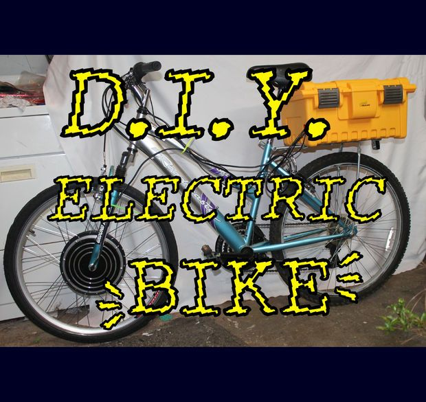 Picture of DIY Electric Bike!
