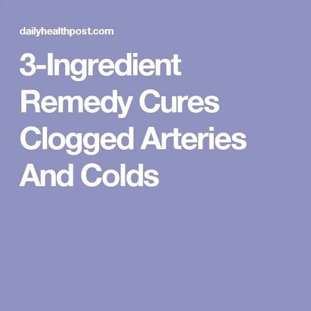 Cholesterol Cure - 3-Ingredient Remedy Cures Clogged Arteries And Colds - The One Food Cholesterol Cure