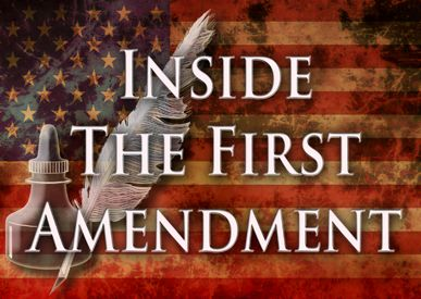 The First Amendment guarantees our right to free speech and the freedoms to assemble peaceably and petition the government for change.