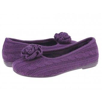 Papuci casa dama Arbequina Gioseppo purpura #homeshoes #cozy #Shoes