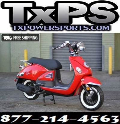 Amigo Znen 2016 ZN150T-E5 149cc Street Legal Scooter, 4 Stroke Air Cooled, Remote Start Free Shipping Sale Price: $1,299.00