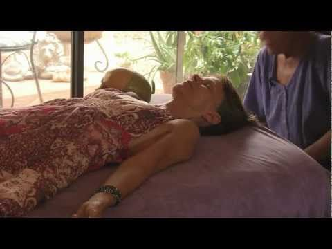 Cranial Sacral Massage Tutorial, Spa Therapy Techniques by Athena Jezik    In this video, Athena demonstrates cranio sacral techniques for alignment and general well-being.  Athena's knowledge of anatomy and massage will help you understand how techniques like the cranial base release are useful for relieving pain, stress, and misalignment.    F...