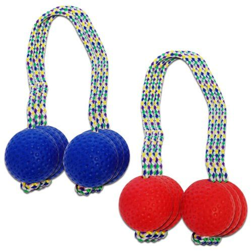 GoSports Soft Rubber Replacement Bolos for Ladder Toss