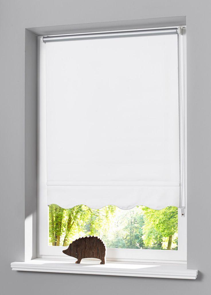 Jetzt anschauen: Dieses Klemmfix-Seitenzugrollo mit wellenförmiger Kante bietet Verdunkelungs- und Sichtschutz. Die Rückseite ist silber beschichtet und kann so vor Kälte und Hitze schützen. Das Rollo ist stufenlos verstellbar. Einfache Montage ohne Bohren und Schrauben: mittels Kunststoff-Klemmträger wird das Rollo auf dem Fensterflügel (geeignet für Fensterflügelstärke bis 1,5cm) befestigt. Der Kettenzug ist wahlweise links oder rechts montierbar. In Ihrer Lieferung erhalten Sie das…
