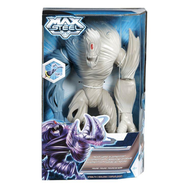 max steel elementor | Boneco Max Steel Elementor Furacao Negro Mattel Bebe