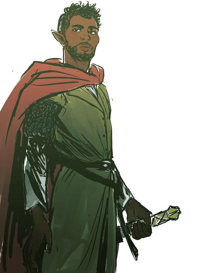 Kinsto Naysawam, prince and heir of Serell